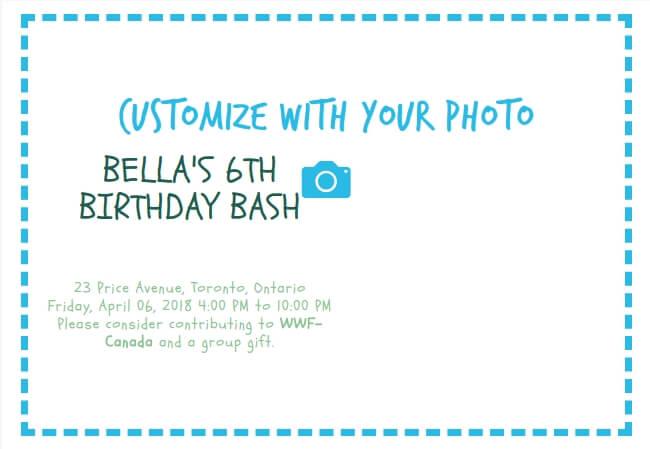 Create Your Own Birthday Party Invitation Online